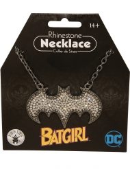 Batgirl™ ketting met strass