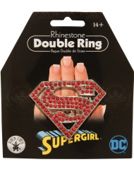 Dubbele Supergirl™ ring
