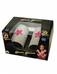 2 deluxe Wonder Woman™ strass armbanden
