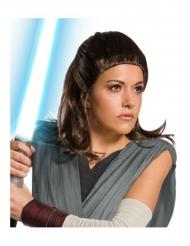 The Last Jedi™ Rey pruik voor volwassenen