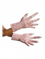 Latex The Last Jedi™ Supreme Leader Snoke™ handschoenen voor volwassenen