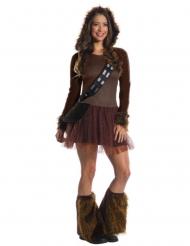 Klassiek Chewbacca Star Wars™ kostuum voor vrouwen