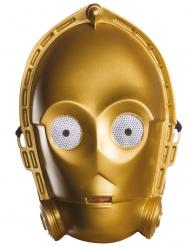 Star Wars™ C-3PO masker voor volwassenen