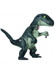Opblaasbaar Velociraptor Jurassic World Fallen Kingdom™ kostuum voor volwassenen