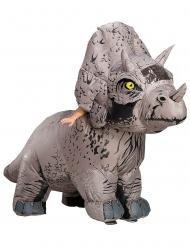 Opblaasbaar Triceratops Jurassic World Fallen Kingdom™ kostuum voor volwassenen