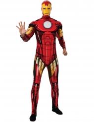 Deluxe gespierd Iron Man™ kostuum voor volwassenen
