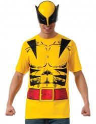Wolverine™ t-shirt met masker voor volwassenen