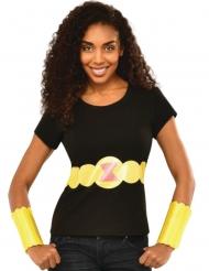Black Widow™ t-shirt en handschoenen voor vrouwen