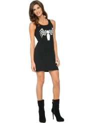 Zwarte Venom Spiderman™ jurk voor vrouwen