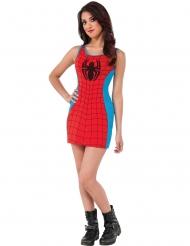Blauwe en rode Spider-Girl™ outfit voor dames