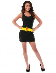 Zwarte Black Widow™ jurk voor vrouwen