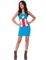 Captain America™ American Dream outfit voor vrouwen