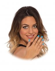 Neppe Captain America™ nagel stickers voor vrouwen