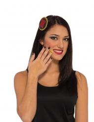 Black Widow™ schminkset voor vrouwen