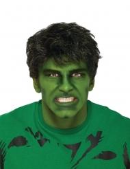 Zwarte Hulk™ pruik voor volwassenen
