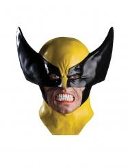 Deluxe Wolverine™ X-Men latex masker voor volwassenen