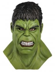 Compleet latex Hulk™ masker voor volwassenen