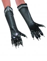 Deluxe Black Panther Captain America Civil War™ handschoenen voor volwassenen