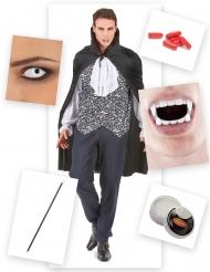 Bloederig vampier kostuum pack voor mannen