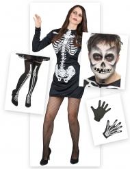Skelet kostuum pack voor vrouwen
