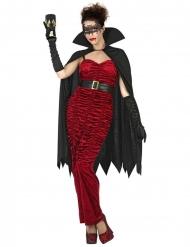 Rood vampier gravin kostuum voor vrouwen