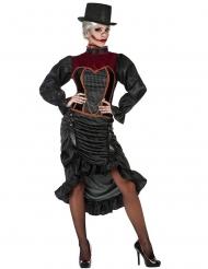 18e eeuwse vampieren kostuum voor vrouwen