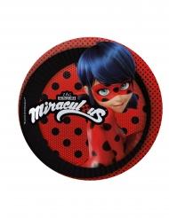8 Ladybug™ kleine kartonnen bordjes
