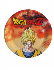 8 kleine kartonnen Dragon Ball Z™ bordjes