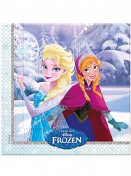 20 papieren Frozen™ servetjes