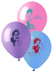 10 latex Disney prinsessen™ ballonnen