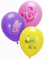 10 latex Minnie™ ballonnen