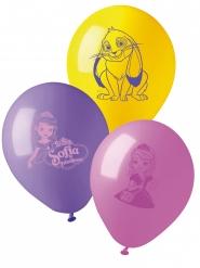 10 latex Sofia het prinsesje ballonnen