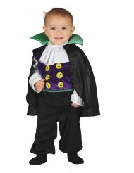 Kleine vampier graaf outfit voor baby