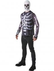 Fortnite™ Skull Trooper T-shirt en masker voor volwassenen