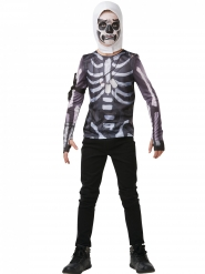 Fortnite™ Skull Trooper t-shirt en masker voor tieners