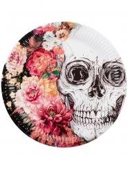 6 kartonnen skelet borden