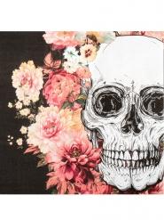 12 papieren skelet servetten