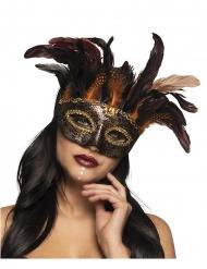 Venetiaans voodoo masker voor vrouwen