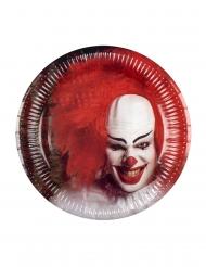 6 enge clown borden van karton