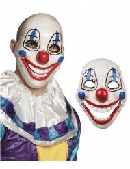 Eng plastic clown masker voor volwassenen