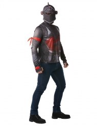Black Knight Fortnite™ t-shirt en helm voor volwassenen