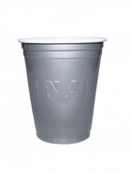 20 zilverkleurige Original Cup bekers