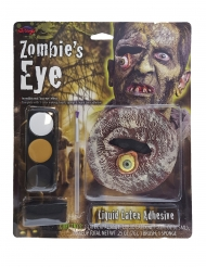 Zombie oog schmink voor volwassenen