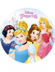 Eetbare Disney Princesses™ decoratie voor gebak