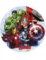 Avengers™ eetbare schijf versiering