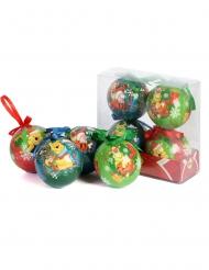4 Winnie the Pooh™ kerstballen