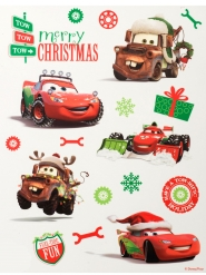 Cars™ kerstmis raamdecoraties