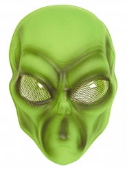 Groen alien masker voor volwassenen