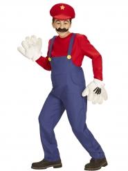 Klassieke rode loodgieter outfit voor kinderen