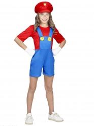 Loodgieter videospel kostuum voor meiden